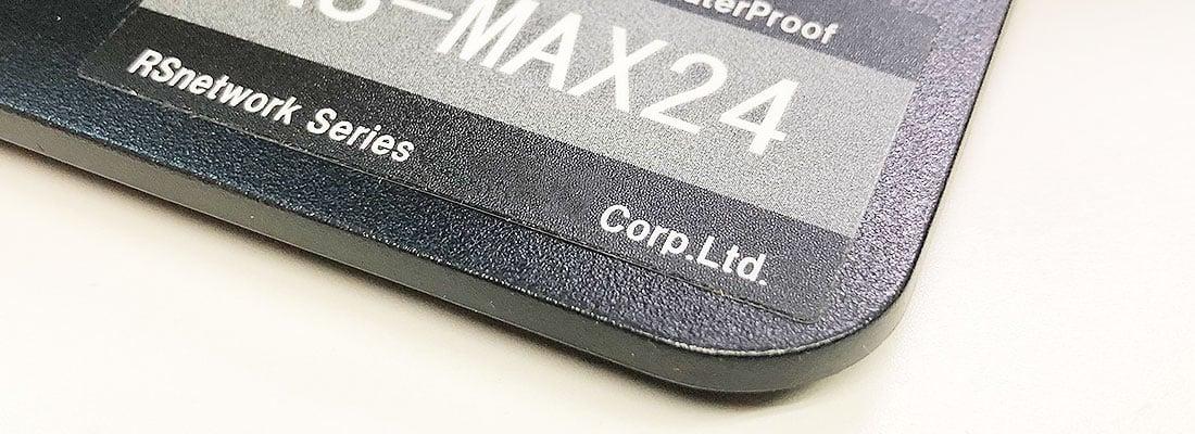 製品銘板シール印刷(製品シール)